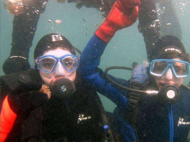 Bautismos Submarinos en Puerto Madryn